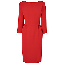 Buy Jaeger 3/4 Sleeve Crepe Dress Online at johnlewis.com