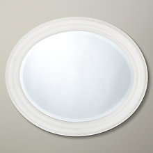 Buy John Lewis Croft Collection Oval Mirror Online at johnlewis.com