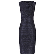 Buy Reiss Alexei Lurex Bodycon Dress, Blue Online at johnlewis.com