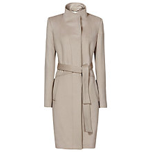 Buy Reiss Evia Longline Belted Coat Online at johnlewis.com