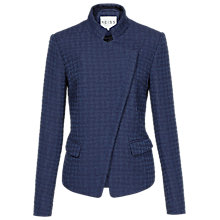 Buy Reiss Hope Houndstooth Jacket, Navy Online at johnlewis.com