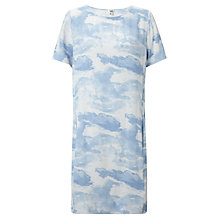 Buy Kin by John Lewis Cloud Print Dress, Blue Online at johnlewis.com
