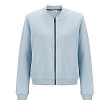 Buy Kin by John Lewis Quilted Bomber Jacket, Light Blue Online at johnlewis.com