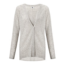 Buy Kin by John Lewis Oversized Cardigan, Ash Online at johnlewis.com