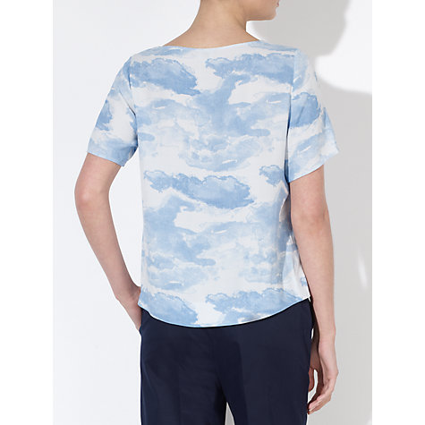 Buy Kin by John Lewis Cloud Print Top, Multi Online at johnlewis.com