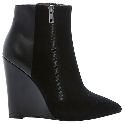 Buy Steve Madden Daaring Leather Ankle Boots Online at johnlewis.com