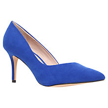 Buy Carvela Abyss Suedette Court Shoe Online at johnlewis.com