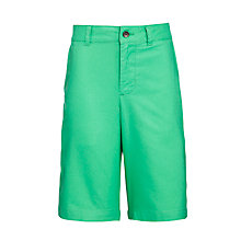 Buy Polo Ralph Lauren Boys' Preppy Shorts, Green Online at johnlewis.com