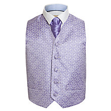 Buy John Lewis Heirloom Collection Boys' Waistcoat & Cravat Set Online at johnlewis.com