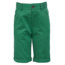 Buy John Lewis Boy Chino Shorts, Green Online at johnlewis.com
