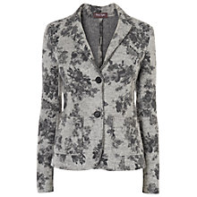 Buy Phase Eight Blythe Floral Jacket, Charcoal Online at johnlewis.com