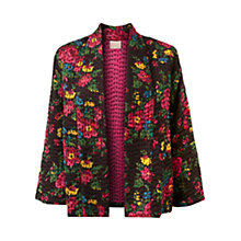 Buy East Pushto Floral Jacket, Black Online at johnlewis.com
