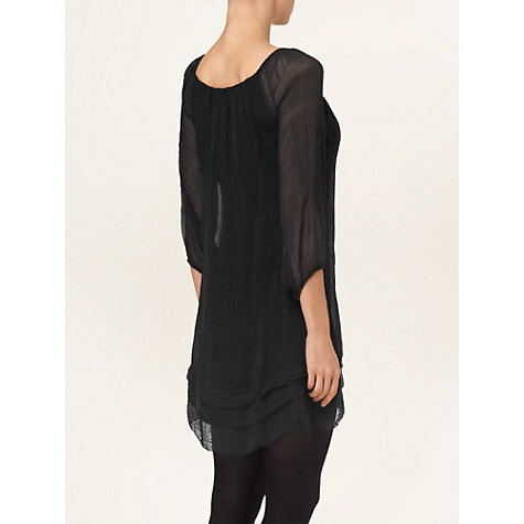 Buy Phase Eight Mimi Silk 3/4 Sleeved Dress Online at johnlewis.com