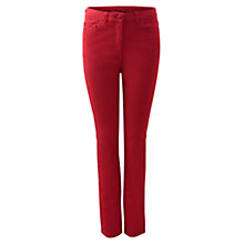 Buy East Stretch Jeans, Scarlet Online at johnlewis.com