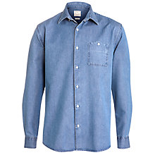 Buy Selected Homme Indigo William Long Sleeve Denim Shirt Online at johnlewis.com