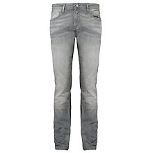 Buy Selected Homme Indigo Two Rico 1331 Slim Jeans, Grey Online at johnlewis.com