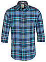 Dockers Wrinkle Check Shirt, Medieval Blue