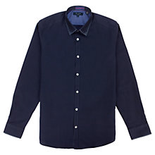 Buy Ted Baker Yurmate Stretch Cotton Long Sleeve Shirt Online at johnlewis.com