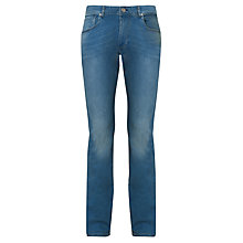Buy Selected Homme Dean Slim Jeans, Light Blue Denim Online at johnlewis.com