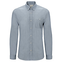 Buy Selected Homme Kenny Long Sleeve Shirt, Blue Online at johnlewis.com