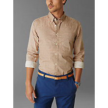 Buy Dockers Laundered Print Shirt, Pink Online at johnlewis.com