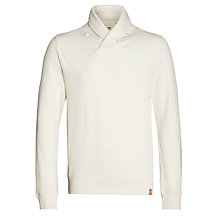 Buy Dockers Shawl Collar Sweatshirt, Chalk Online at johnlewis.com