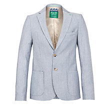 Buy Scotch & Soda Mr Bahana Summer Blazer, Marine Melange Online at johnlewis.com