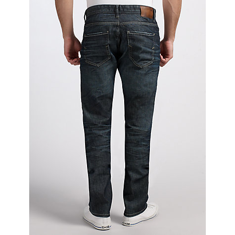 Buy Selected Homme Slim Fit Jeans, Dark Blue Online at johnlewis.com