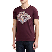 Buy Ted Baker Bakrmap Graphic T-Shirt Online at johnlewis.com