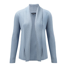 Buy Viyella Jacquard Trim Cardigan, Water Online at johnlewis.com