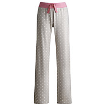 Buy Joules Cora Pyjama Pants, Taupe Online at johnlewis.com