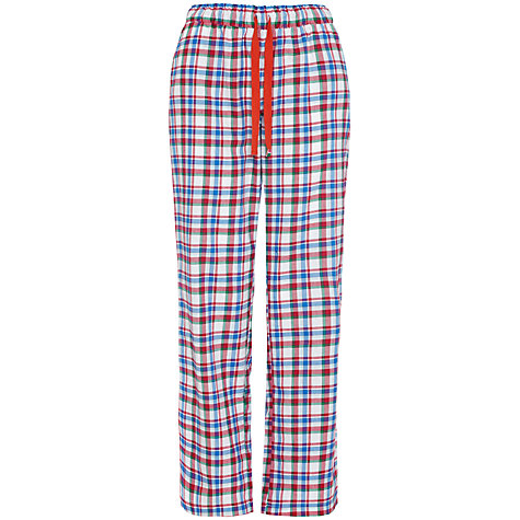 Buy Rampant Sporting Woven Check Pyjama Pants, Multi Online at johnlewis.com