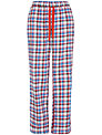 Rampant Sporting Woven Check Pyjama Pants, Multi