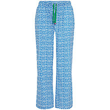Buy Rampant Sporting Woven Floral Pyjama Pants, Blue Floral Online at johnlewis.com