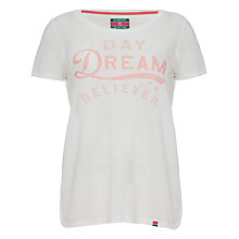 Buy Rampant Sporting Daydream Believer Loose T-Shirt, White Online at johnlewis.com