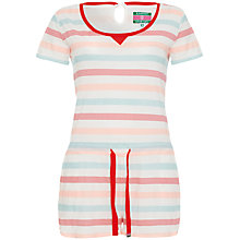 Buy Rampant Sporting Striped Romper, Papaya Online at johnlewis.com