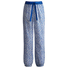 Buy Joules Lillie Pyjama Pants, Blue Online at johnlewis.com