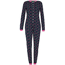 Buy Rampant Sporting Flamingo Print Onesie, Navy Multi Online at johnlewis.com
