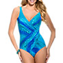 Buy Miraclesuit Oceanus Shaping Swimsuit, Blue Multi Online at johnlewis.com