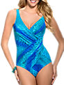 Miraclesuit Oceanus Shaping Swimsuit, Blue Multi
