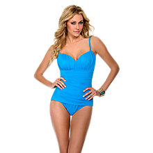 Buy Miraclesuit Rialto Soft Cup Swimsuit, Blue Online at johnlewis.com
