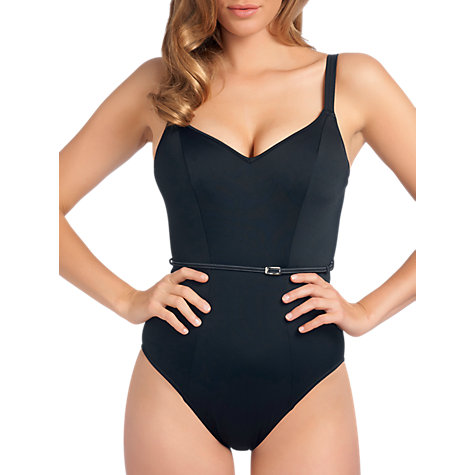 Buy Freya Fever Swimsuit, Black Online at johnlewis.com