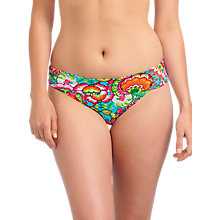 Buy Freya Dreamer Hipster Bikini Briefs, Blue / Multi Online at johnlewis.com