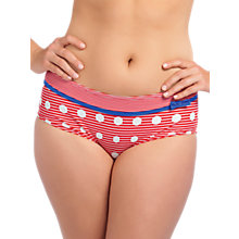 Buy Freya Hello Sailor Bikini Bottoms, Red / White Online at johnlewis.com