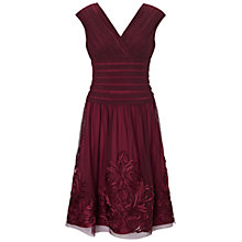 Buy Adrianna Papell Soutache Hem Fit and Flare Dress Online at johnlewis.com