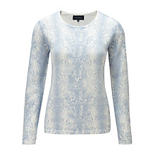 Buy Viyella Water Python Print Jumper, Water Online at johnlewis.com