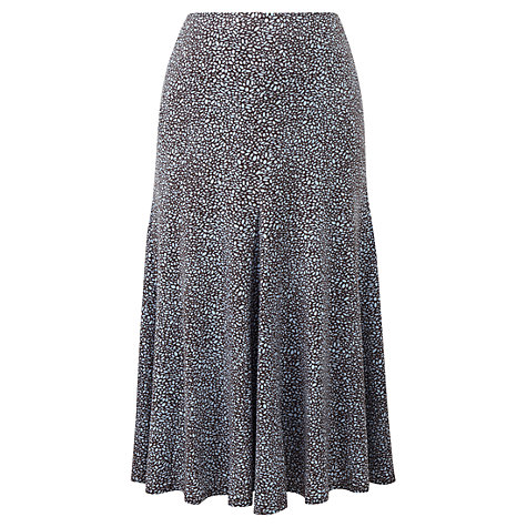 Buy Viyella Pip Spotted Jersey Skirt, Water Online at johnlewis.com