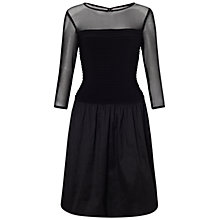 Buy Adrianna Papell Illusion Full Skirt Combo Dress Online at johnlewis.com
