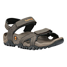 Buy Timberland Trailway Leather Sandals, Granite Online at johnlewis.com