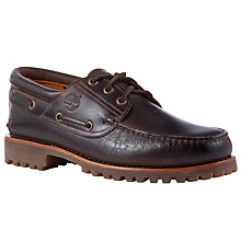 Buy Timberland Heritage 3-Eye Classic Lugs, Brown Online at johnlewis.com